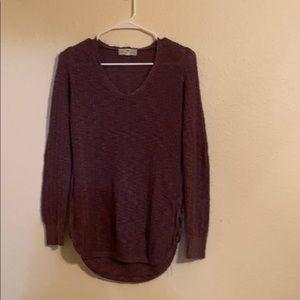 Pink Republic sweater w/side criss cross
